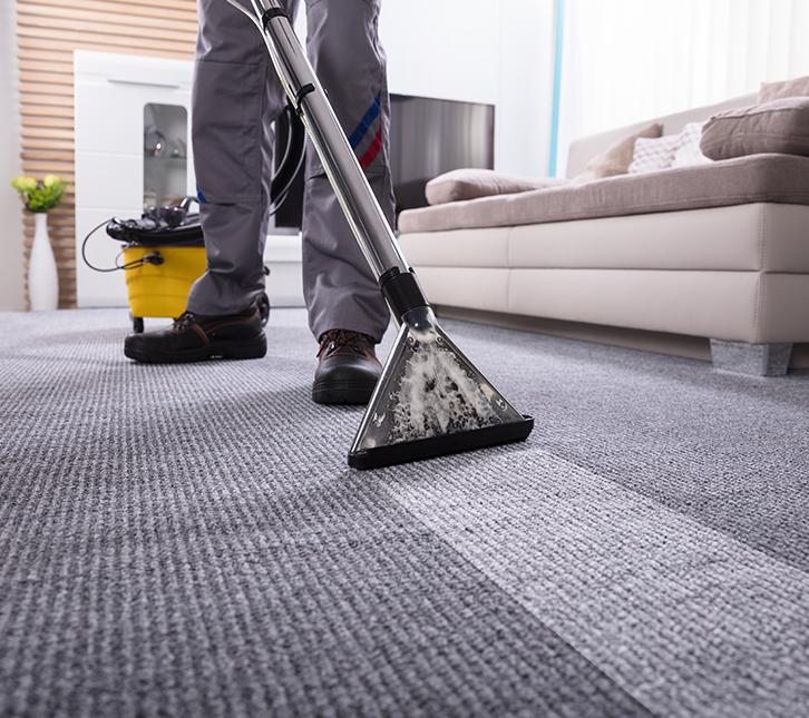 Teppichboden professionell reinigen>